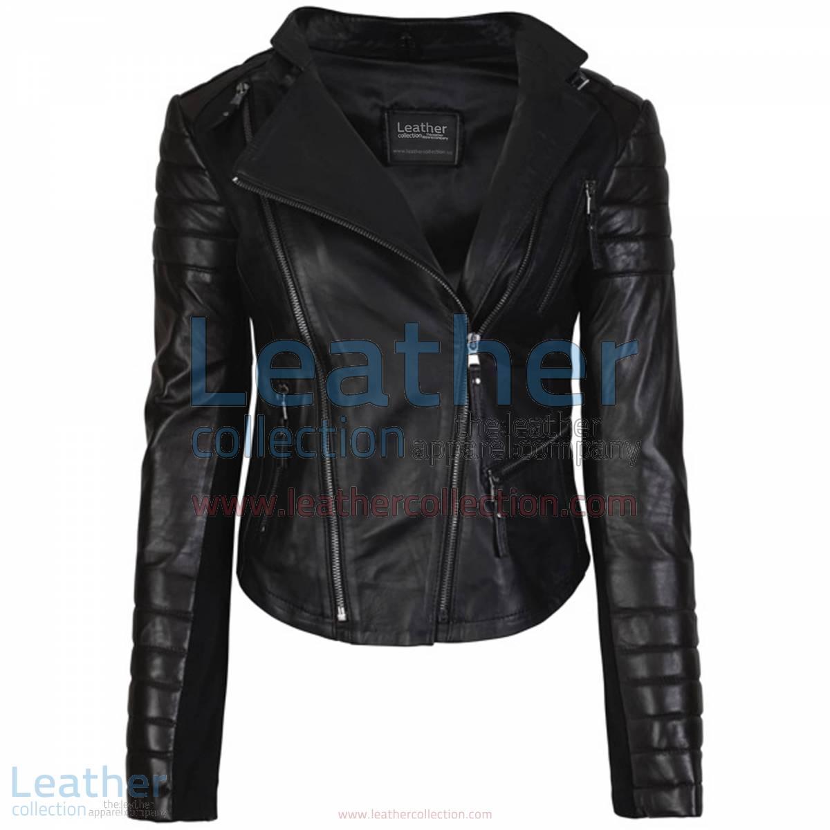 Kelly Fashion Ladies Leather Jacket Black | kelly jacket