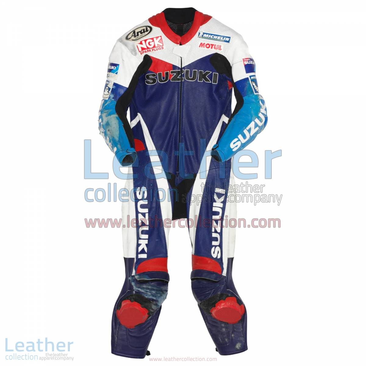 Kenny Roberts jr Suzuki GP 1999 Leathers   suzuki leathers