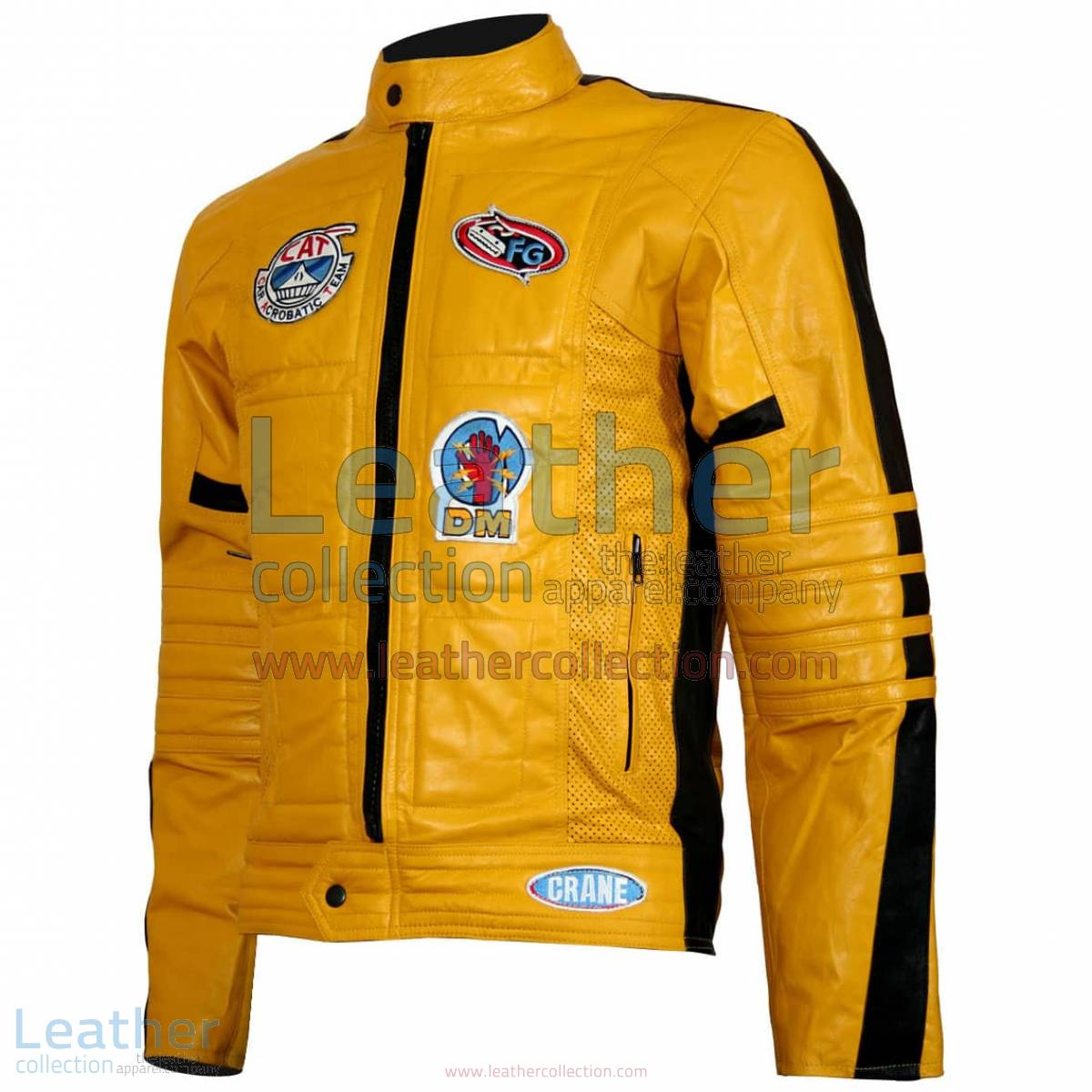 Kill Bill Movie Women Leather Jacket   women leather jacket