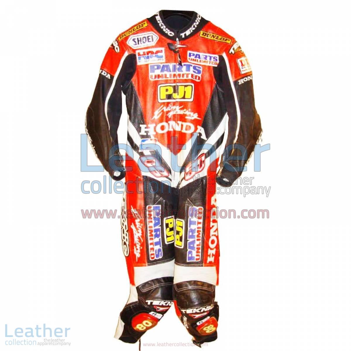 Kurtis Roberts Honda AMA Race Suit | honda race suit