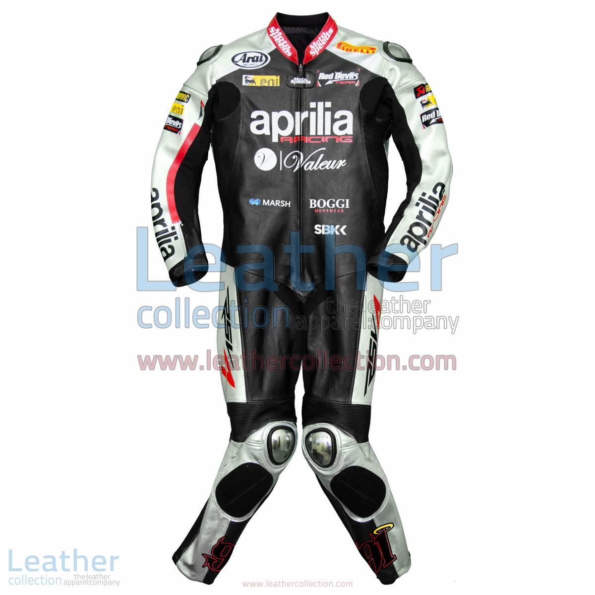 Leon Haslam Aprilia 2015 WSBK Racing Leathers | racing leathers
