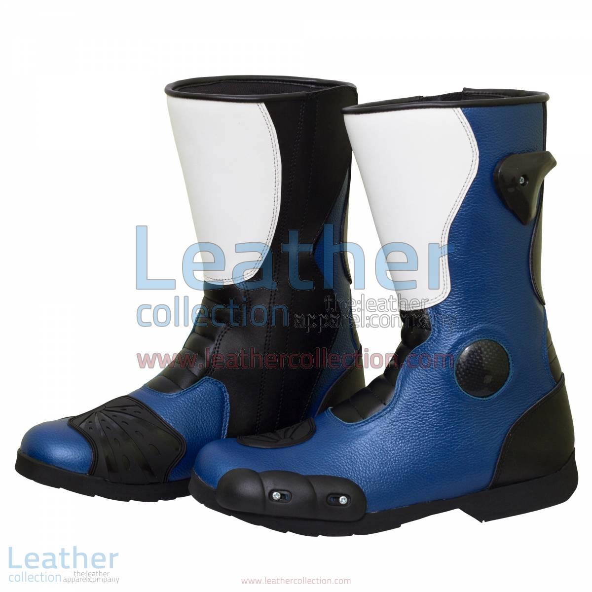 Leon Haslam Leather Biker Boots | leather biker boots