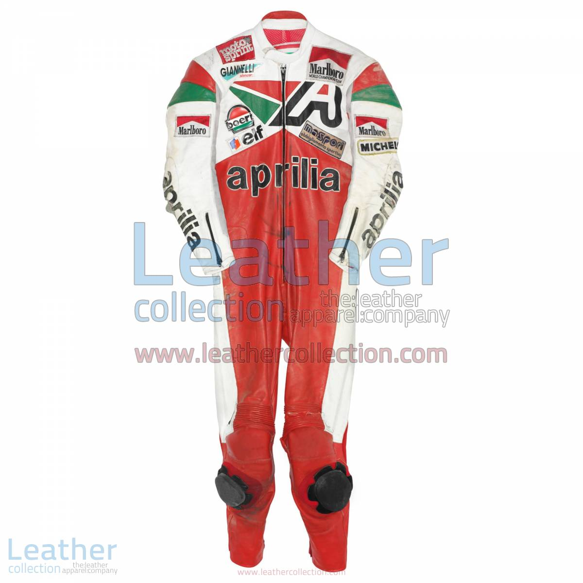 Loris Reggiani Aprilia GP 1987 Leather Suit | aprilia leather suit