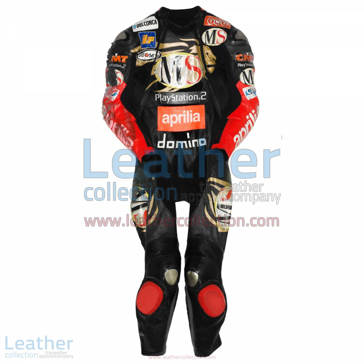 Manuel Poggiali Aprilia GP 2003 Leather Suit | aprilia