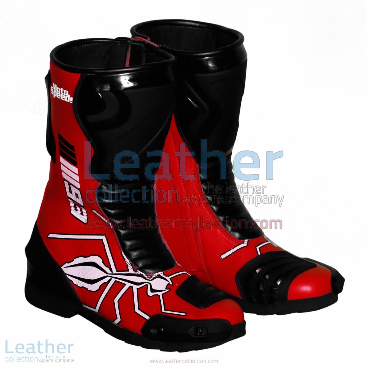 Marc Marquez 2015 - 2016 MotoGP Racing Boots   Marc Marquez 2015 - 2016 MotoGP racing boots
