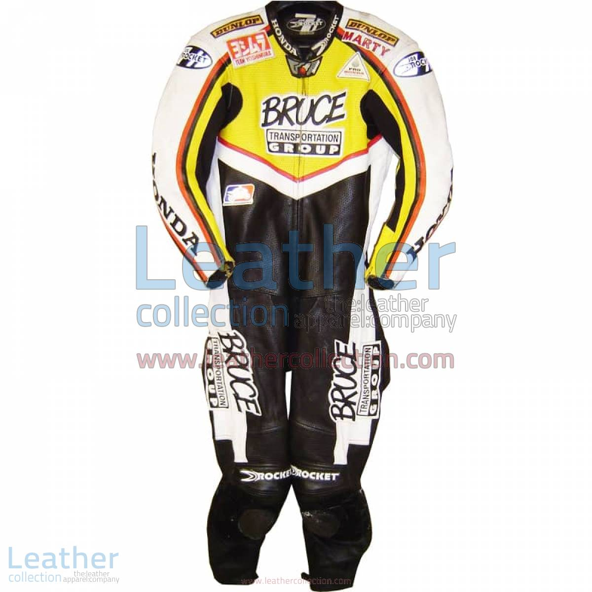 Marty Craggill Honda AMA 2003 Race Suit | honda race suit