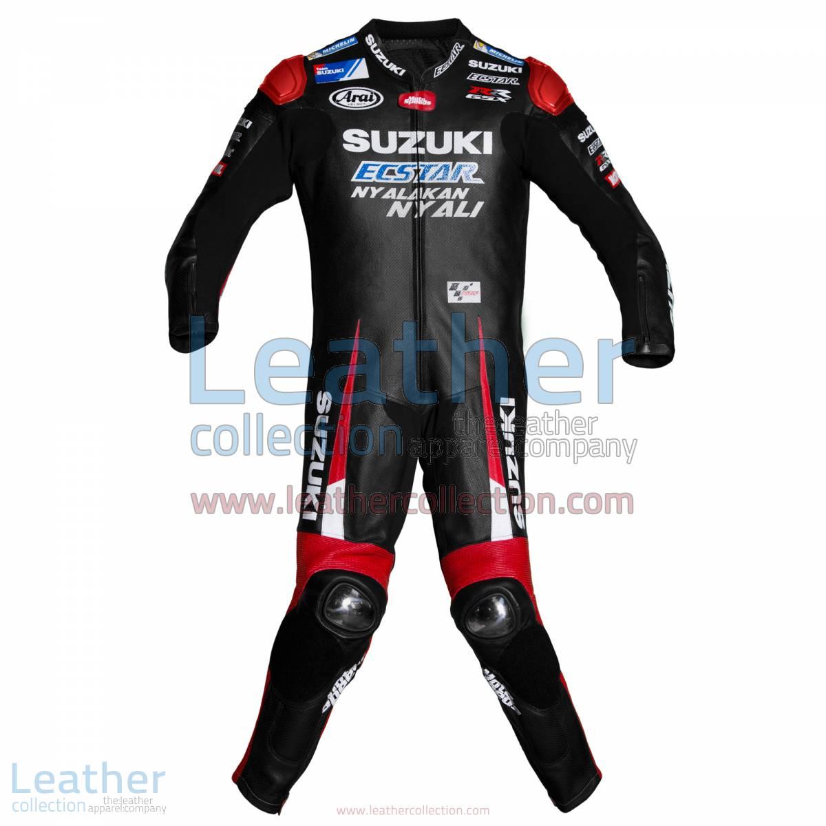 Maverick Vinales Suzuki MotoGP 2016 Leather Suit   Maverick Vinales Suzuki MotoGP 2016 Leather Suit