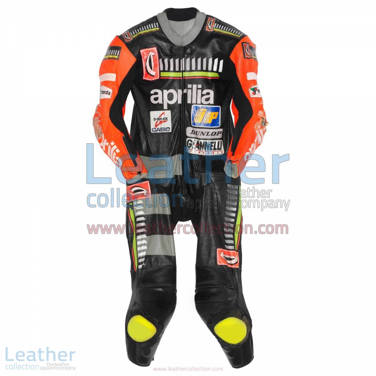Max Biaggi Aprilia GP 1995 Racing Leathers | aprilia