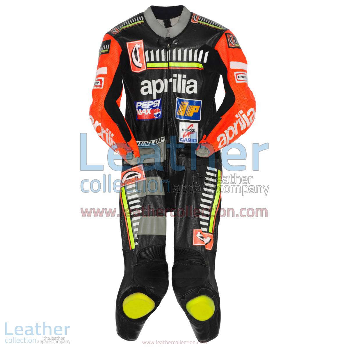 Max Biaggi Aprilia GP 1996 Leathers | aprilia apparel