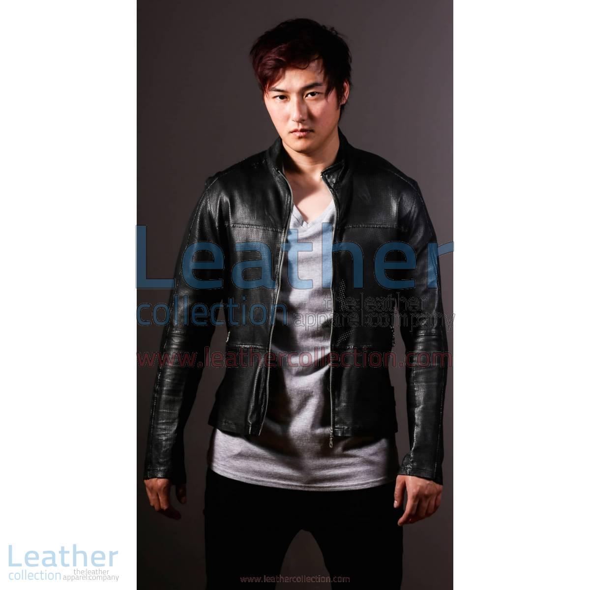 Men Leather Fashion Steel Jacket | steel jacket