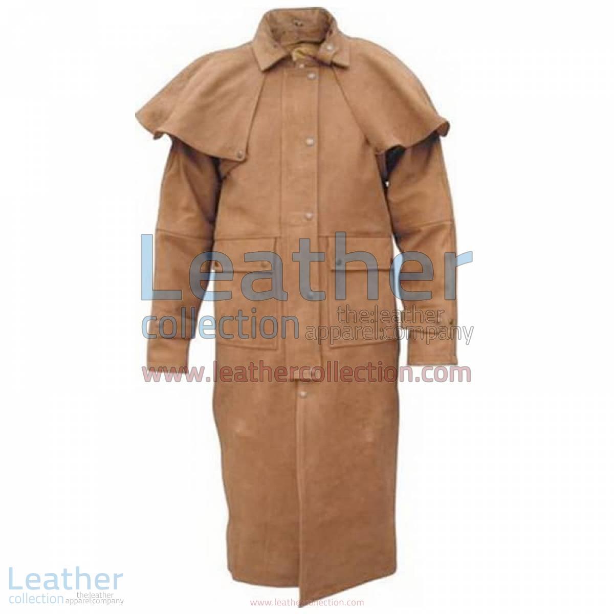 Men's Brown Duster Coat | men's duster coat