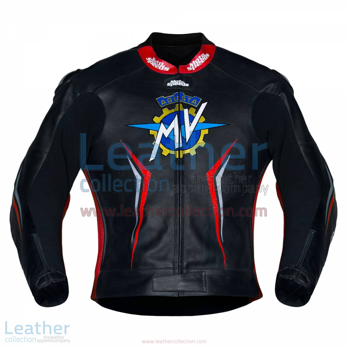 MV Agusta 2017 Motorcycle Leather Jacket | MV Agusta 2017 Motorcycle Leather Jacket