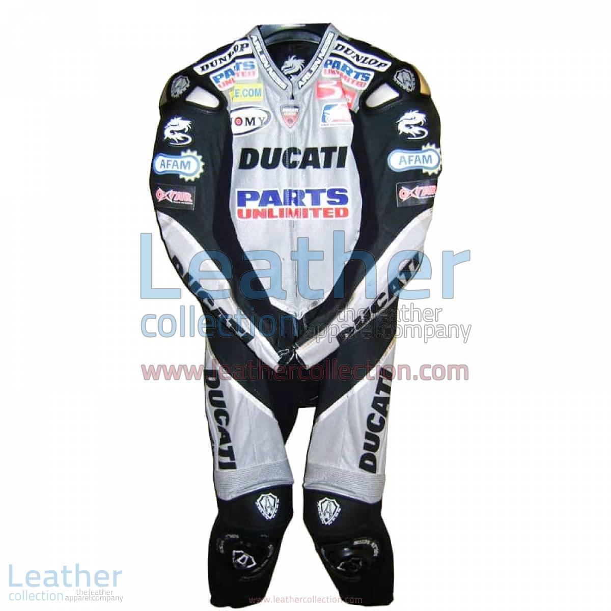 Neil Hodgson Ducati AMA 2006 Leather Suit | ducati leather suit