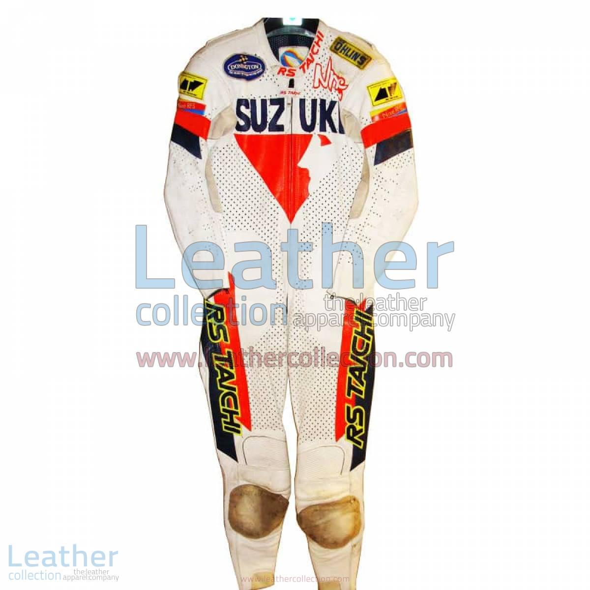 Niall Mackenzie Suzuki GP Racing Suit | suzuki racing suit