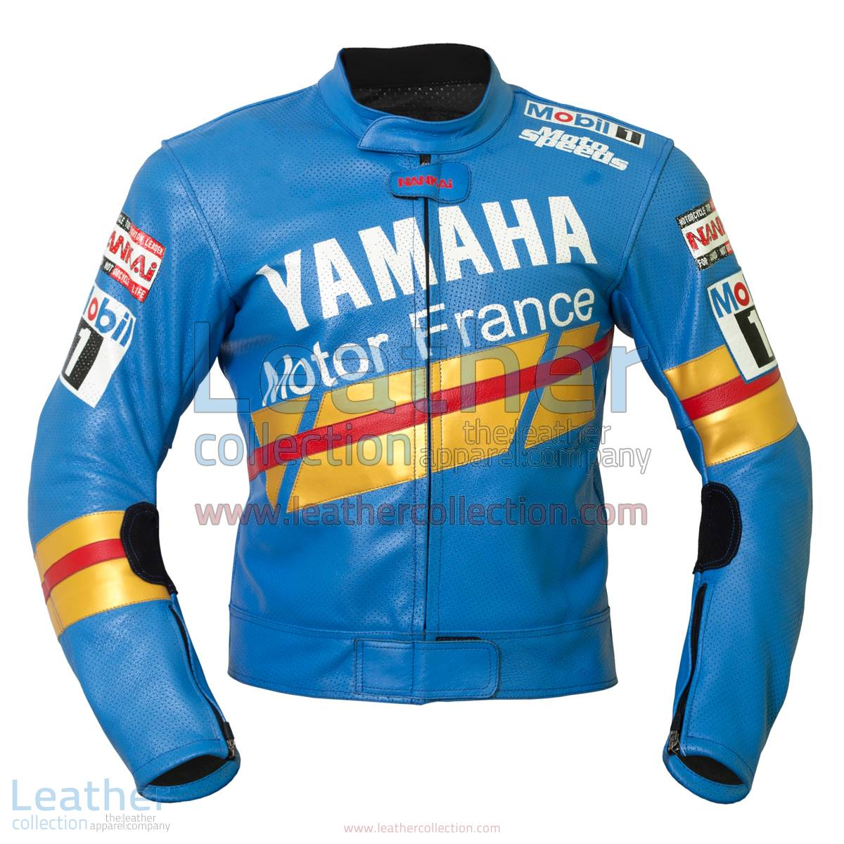 Niall Mackenzie Yamaha GP 1991 Leather Jacket | yamaha clothing