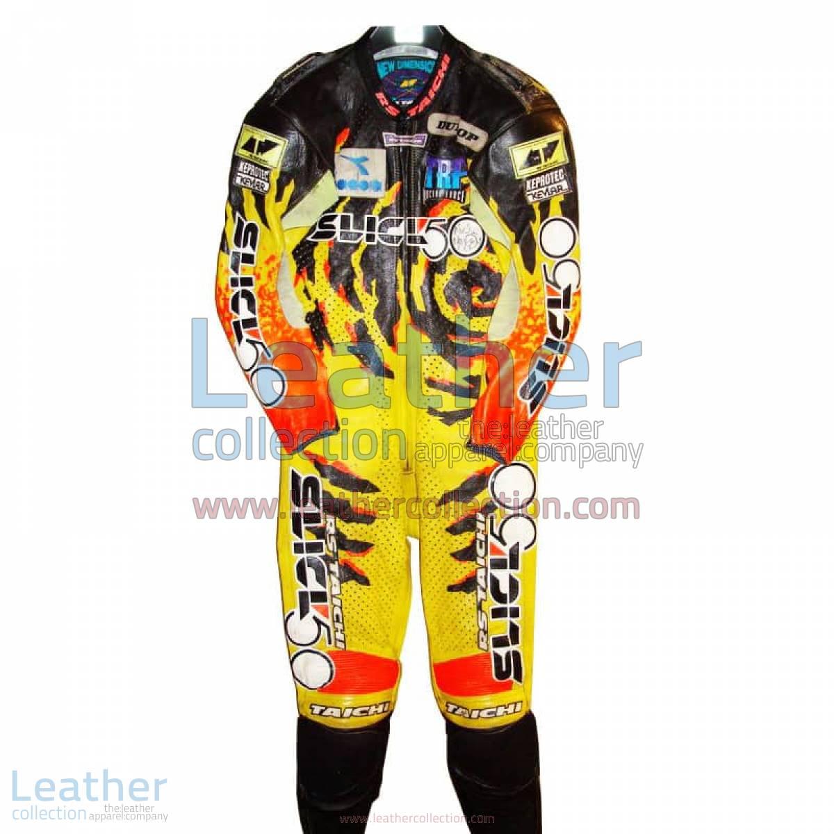 Niall Mackenzie Yamaha GP 1994 Leather Suit | yamaha leather suit