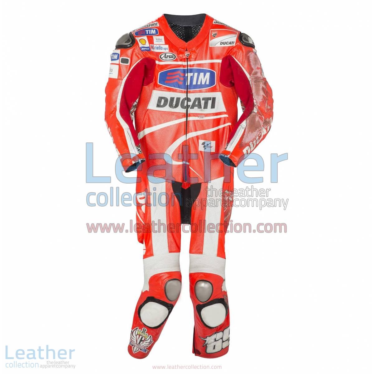 Nicky Hayden Ducati 2013 MotoGP Race Leathers | motogp race leathers