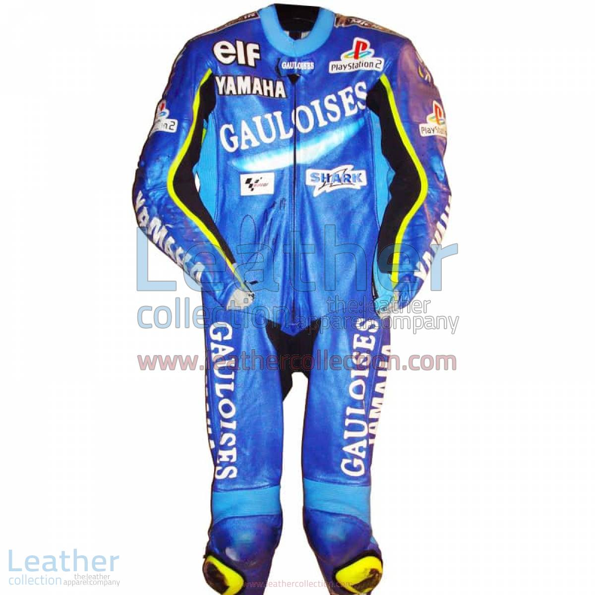 Olivier Jacque Yamaha GP 2002 Racing Leathers | Yamaha racing leathers
