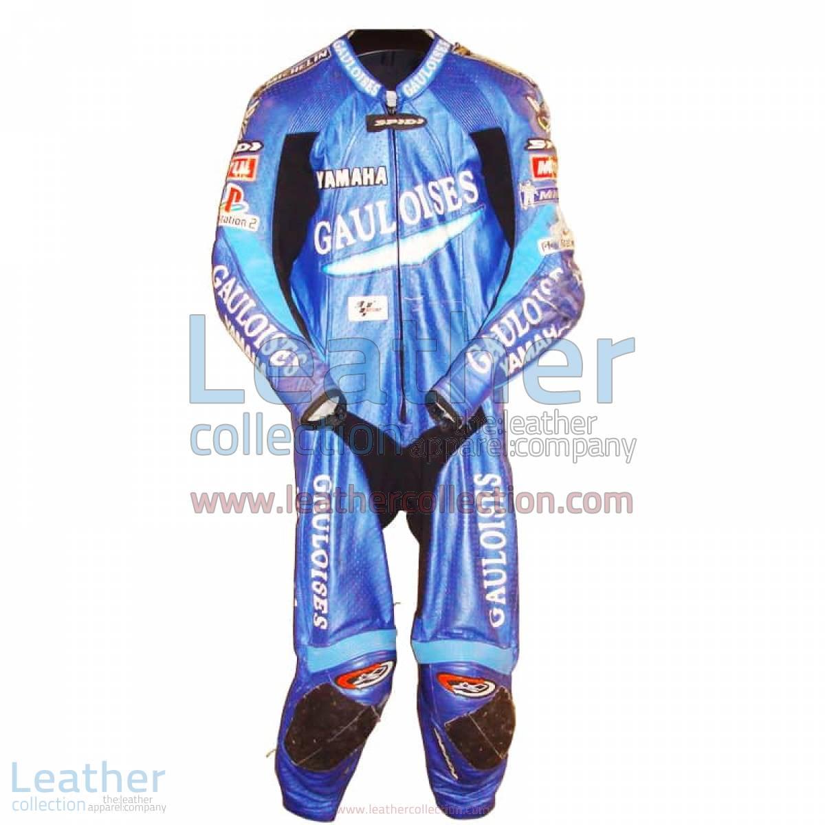 Olivier Jacque Yamaha GP 2003 Racing Suit   yamaha racing suit