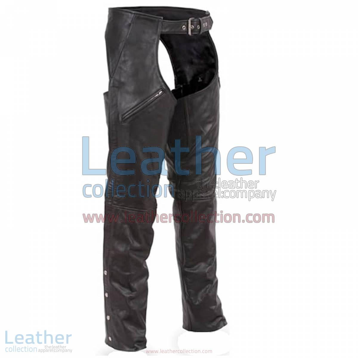 Premium Leather Biker Chaps | leather chaps