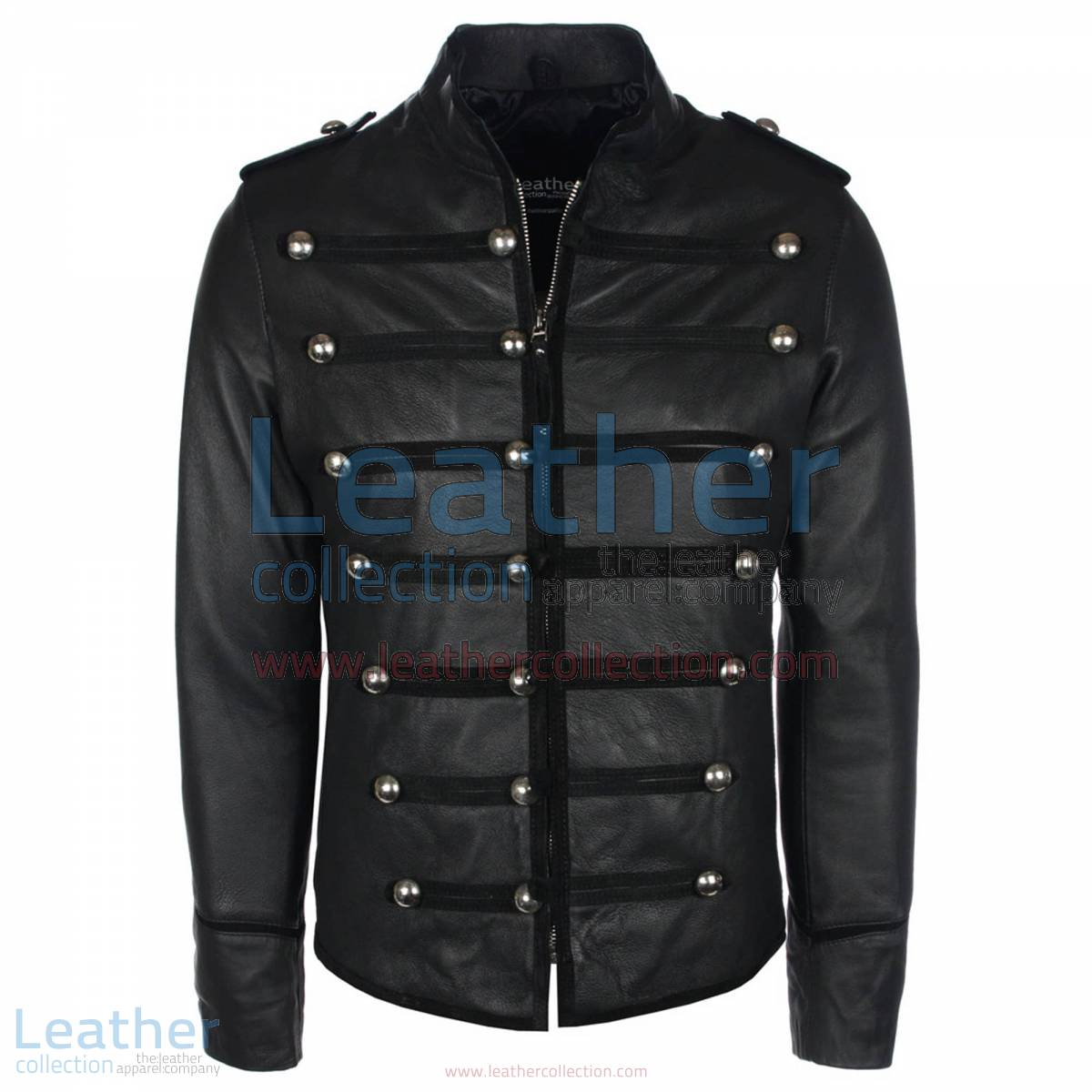 Prince Military Biker Leather Jacket | prince jacket