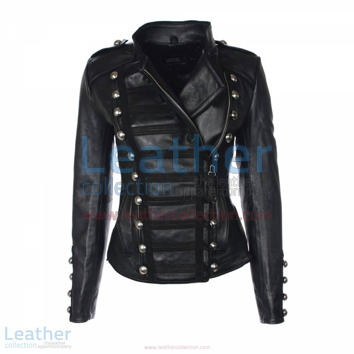 Princess Leather Jacket Black   princess jacket