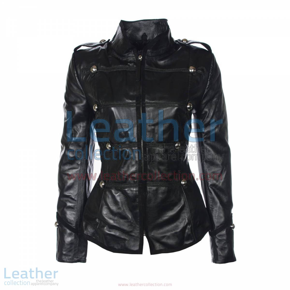Princess Military Leather Jacket   princess jacket