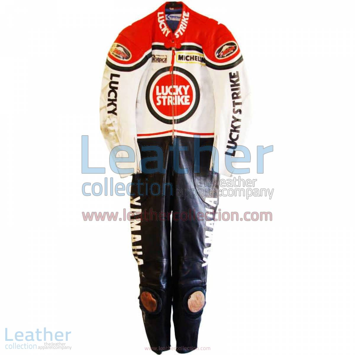 Randy Mamola Lucky Strike Yamaha GP 1986 Leathers | yamaha leathers