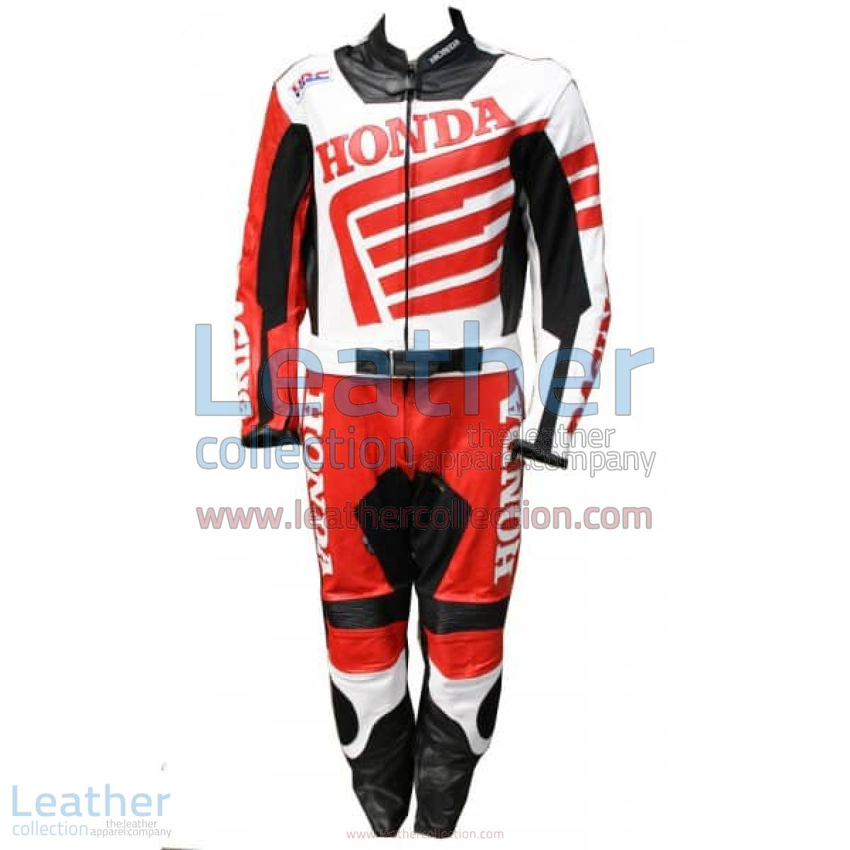 Honda Motorbike Racing Leather Suit | honda racing suit