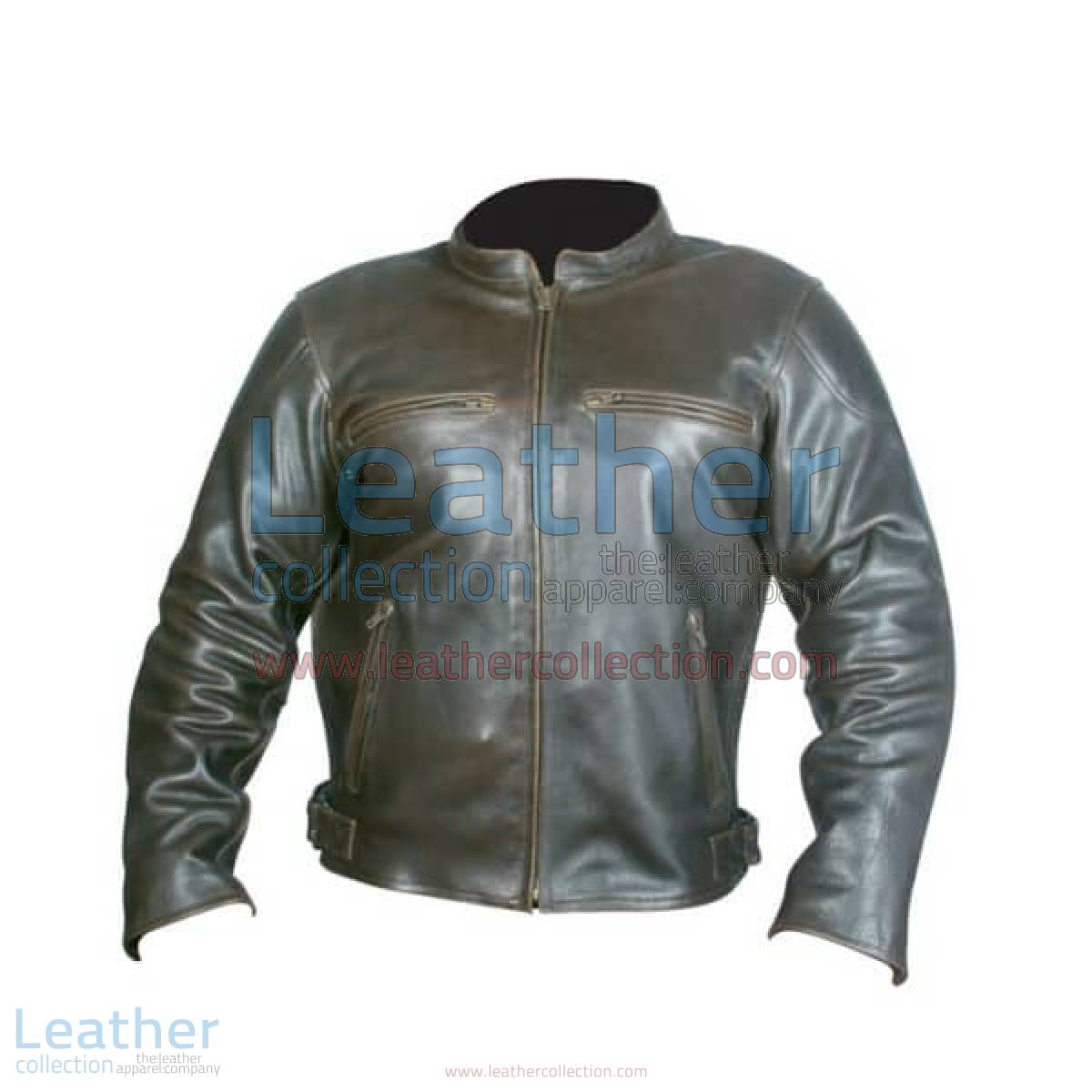 Retro Brown Leather Jacket | retro brown leather jacket