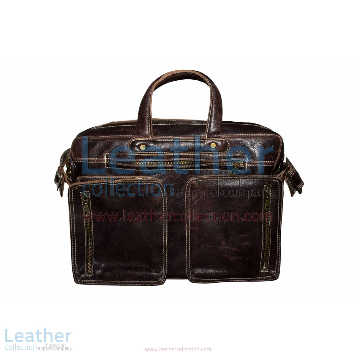 Retro Leather Laptop Bag | retro laptop bag