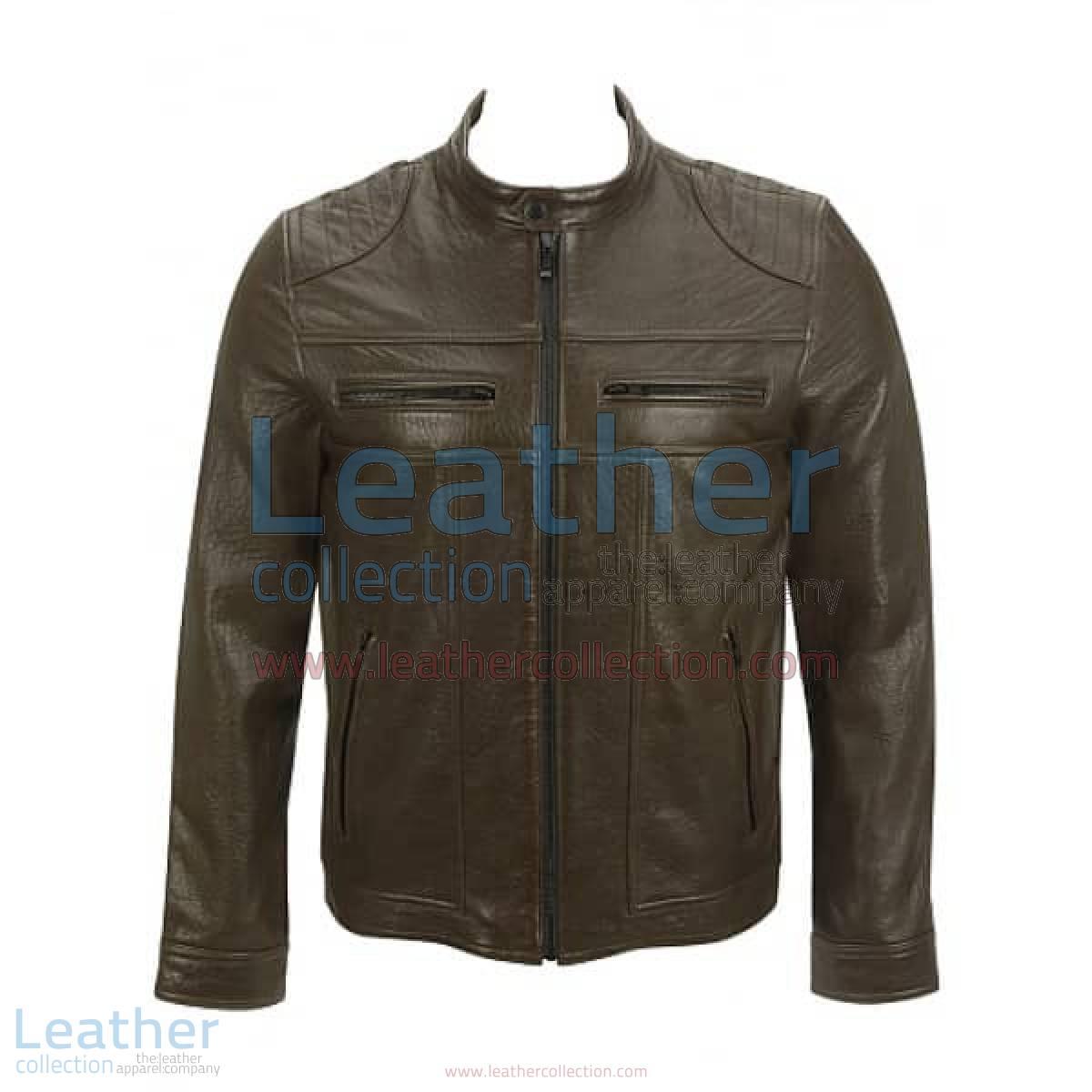 Saddle Shoulder Antique Leather Jacket | antique leather jacket