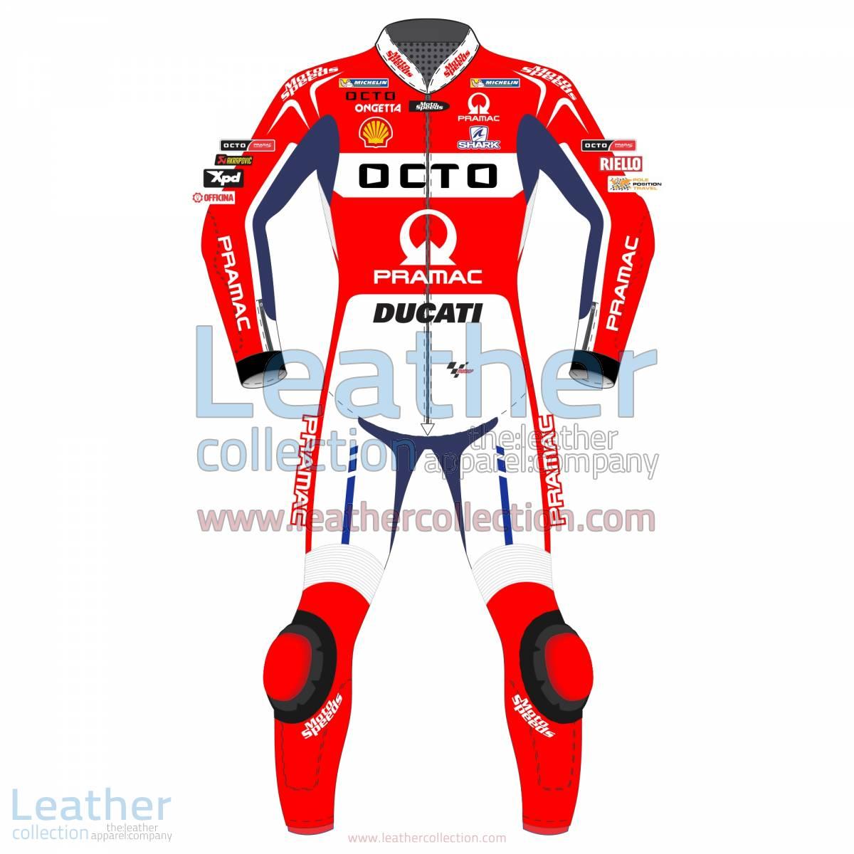 Scott Redding Ducati Pramac 2017 MotoGP Leather Suit | Scott Redding Ducati Pramac 2017 MotoGP Leather Suit