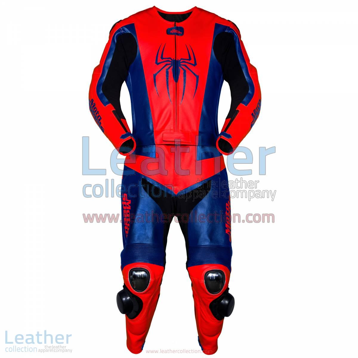 Spiderman Leather Race Suit | leather race suit