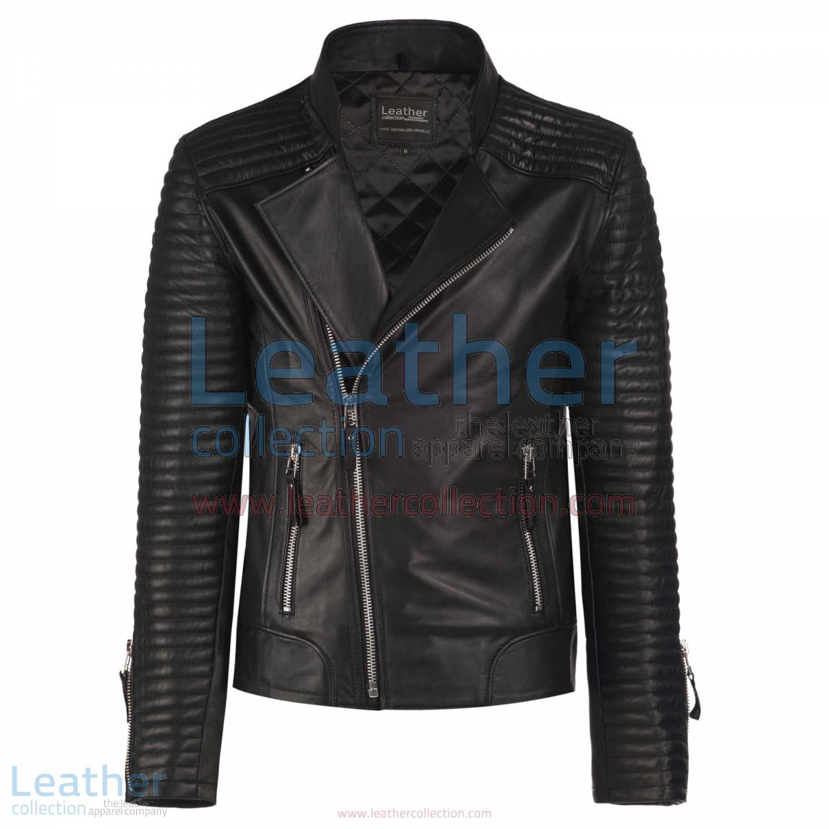 The Hunter Biker Leather Jacket | hunter biker jacket