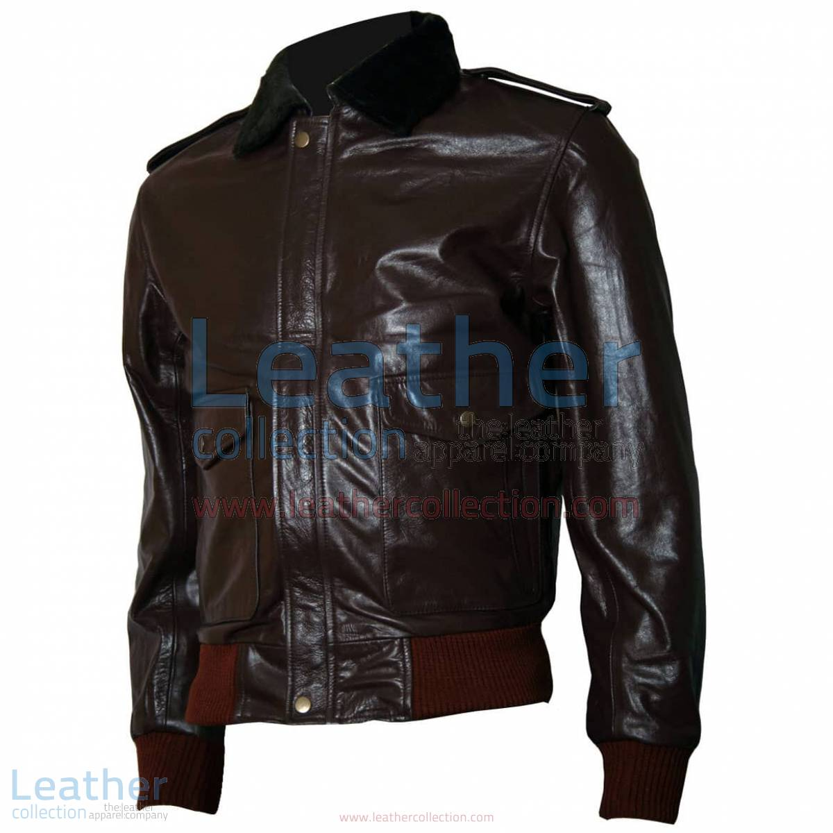 The Thing R. J. MacReady Brown Leather Jacket | brown leather jacket