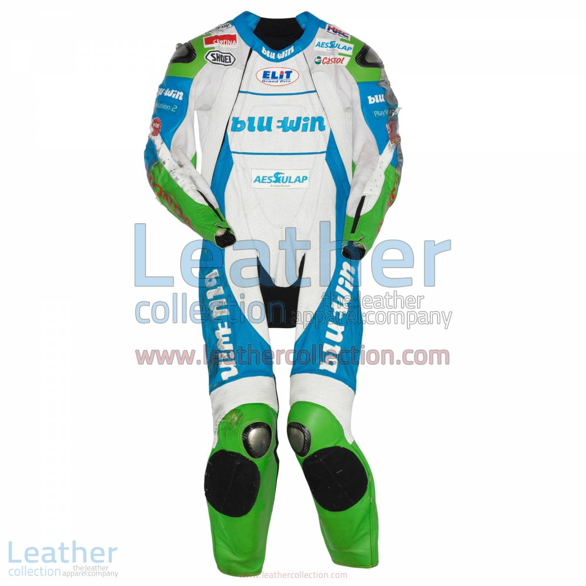 Thomas Luthi Honda GP 2005 Leather Suit | honda suit