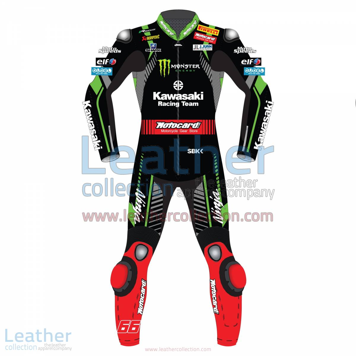 Tom Sykes Kawasaki WSBK 2018 Leather Suit | tom sykes