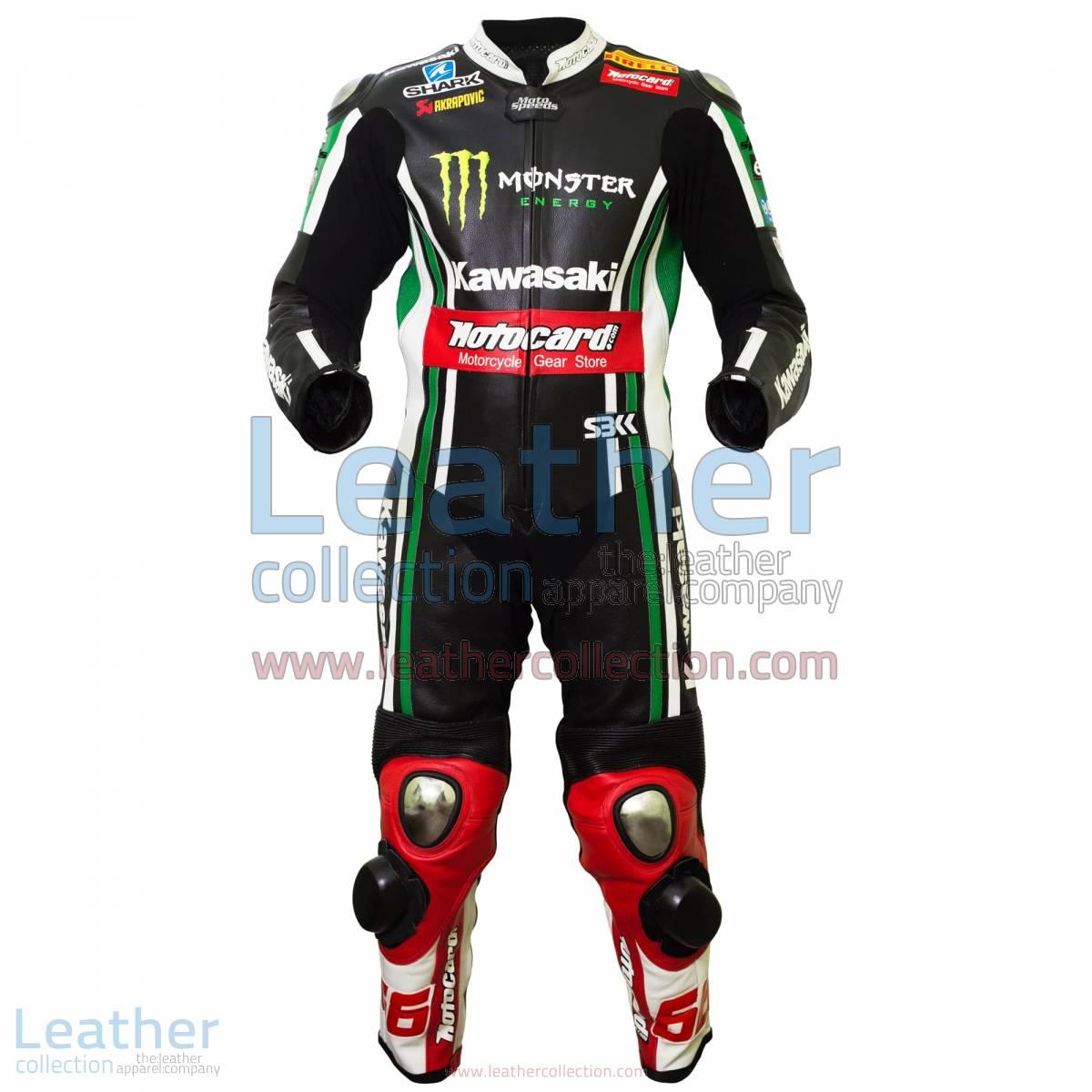 Tom Sykes Kawasaki 2015 MotoGP Leathers | kawasaki leathers