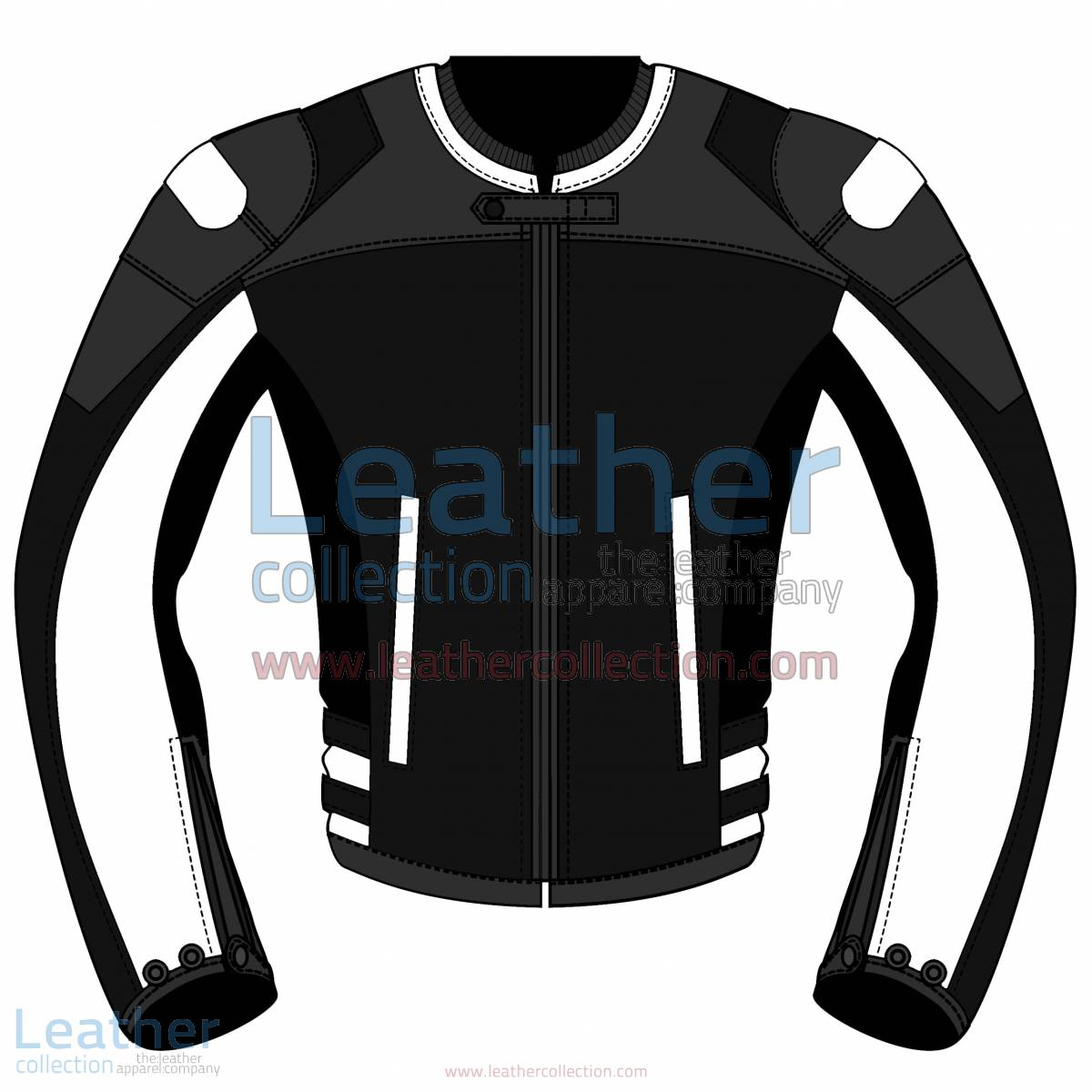 Tri Color Motorbike Leather Jacket For Women | Tri Color motorcycle Leather Jacket For Women