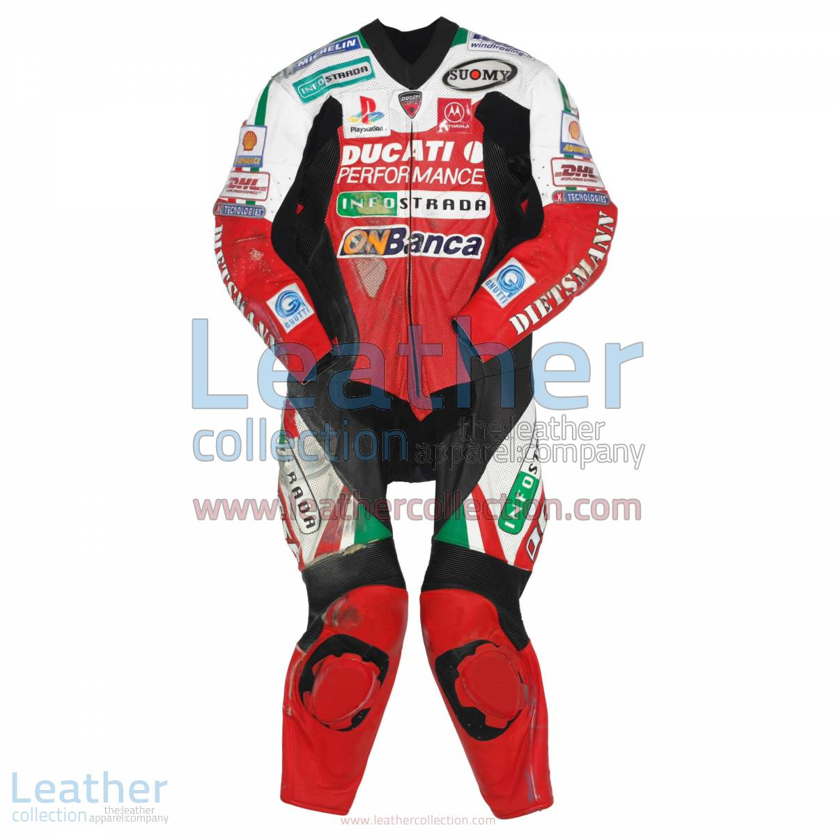 Troy Bayliss Ducati WSBK 2001 Leathers | ducati leathers