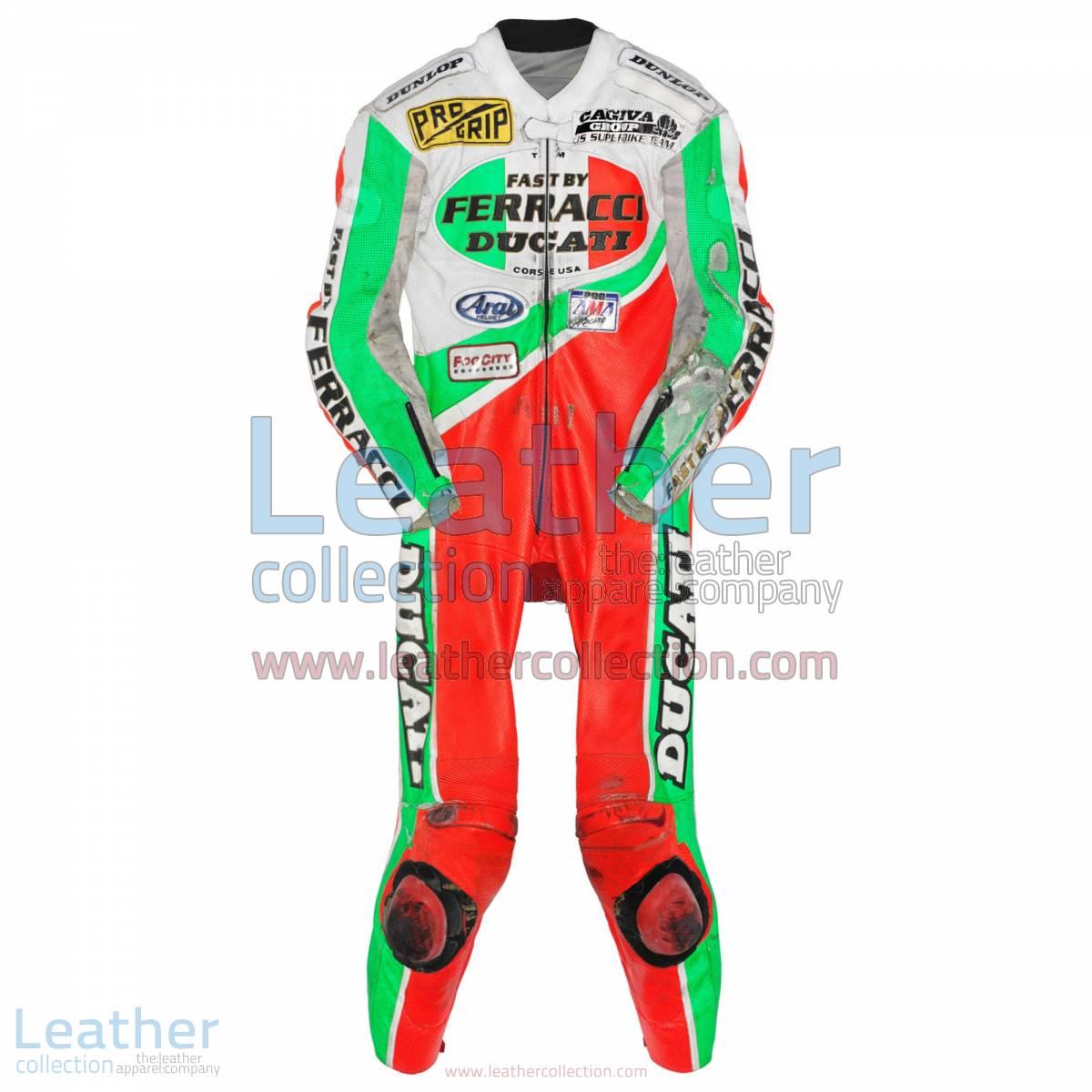 Troy Corser Ducati AMA 1994 Leather Suit | ducati leather suit