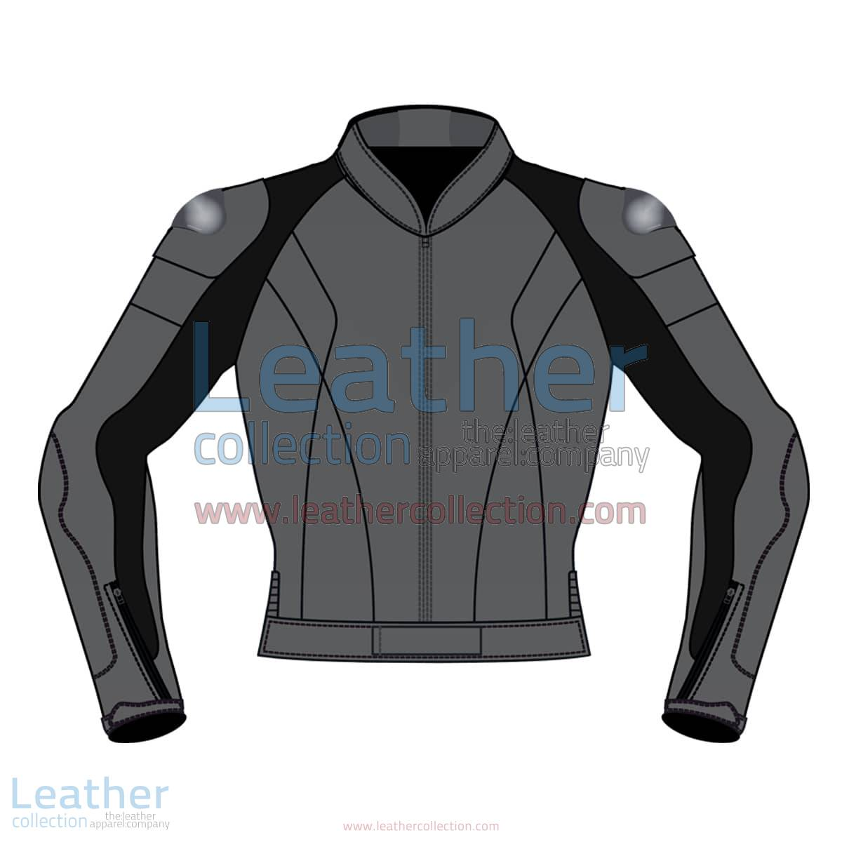 Uni Color Motorbike Leather Jacket For Men | Uni Color motorcycle Leather Jacket For Men