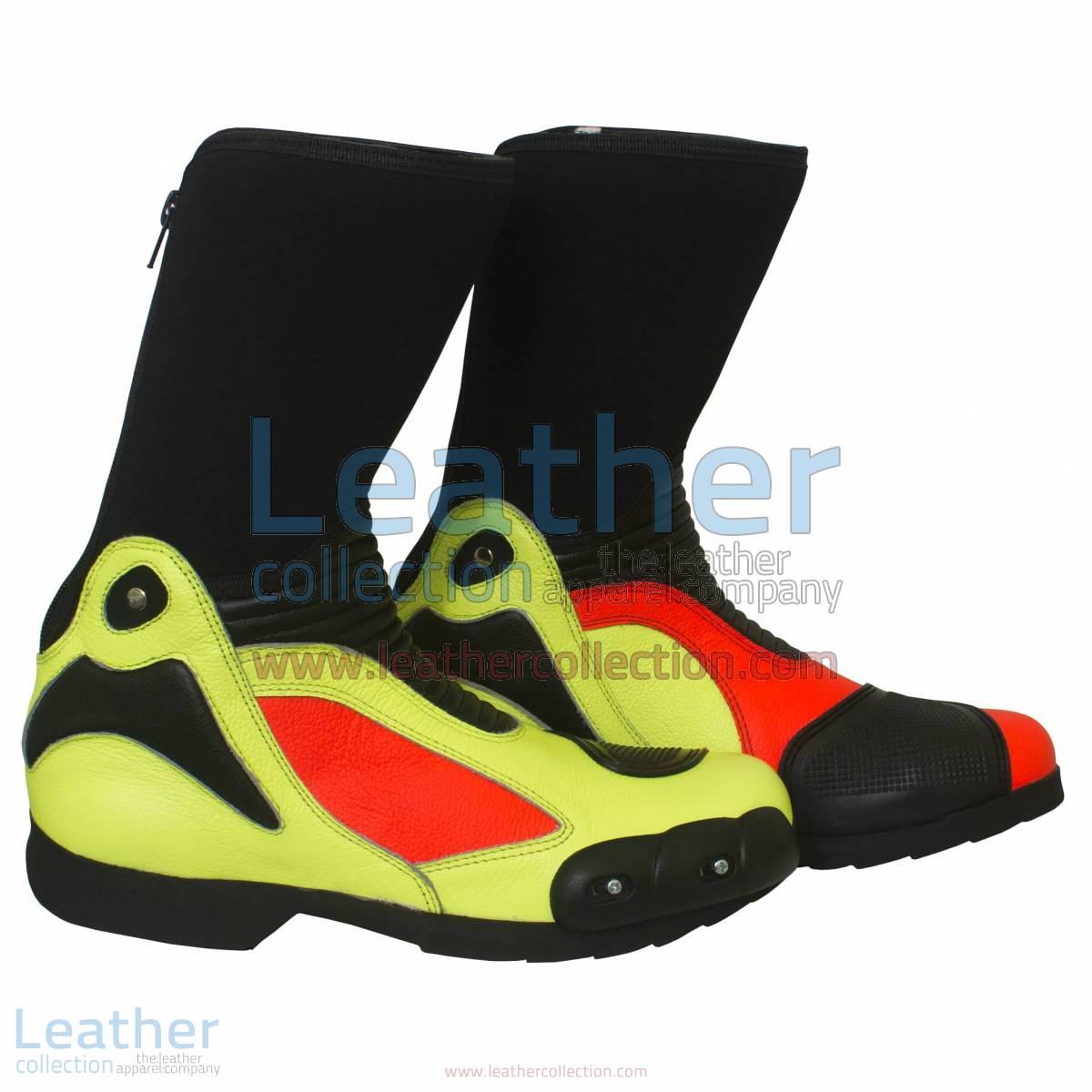 Valentino Rossi 2011 Leather Biker Boots   valentino rossi boots