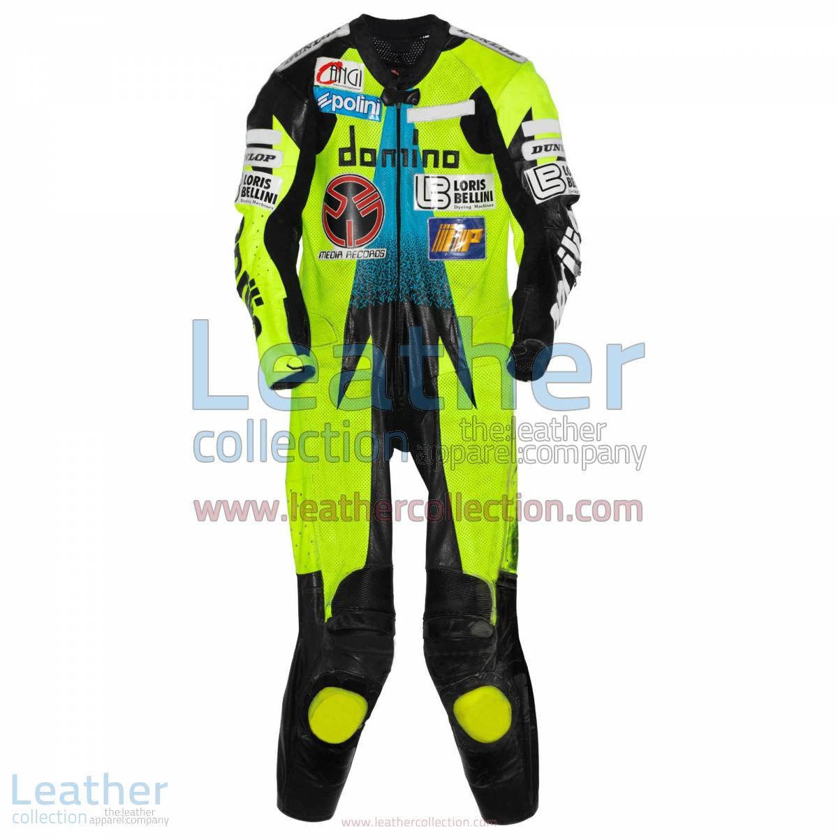 Valentino Rossi Aprilia GP 1996 Leathers   valentino rossi leathers
