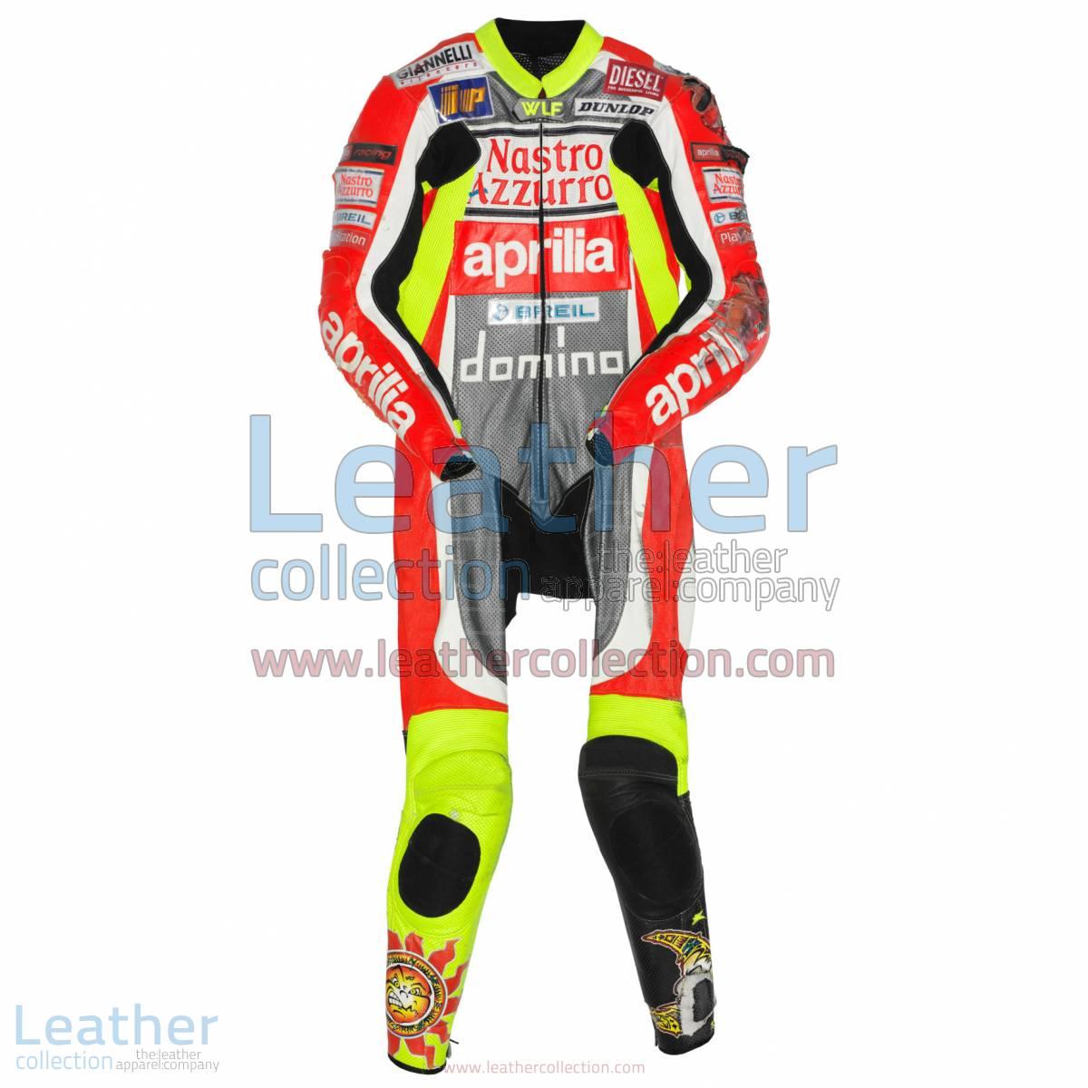 Valentino Rossi Aprilia GP 1999 Leathers   valentino rossi leathers