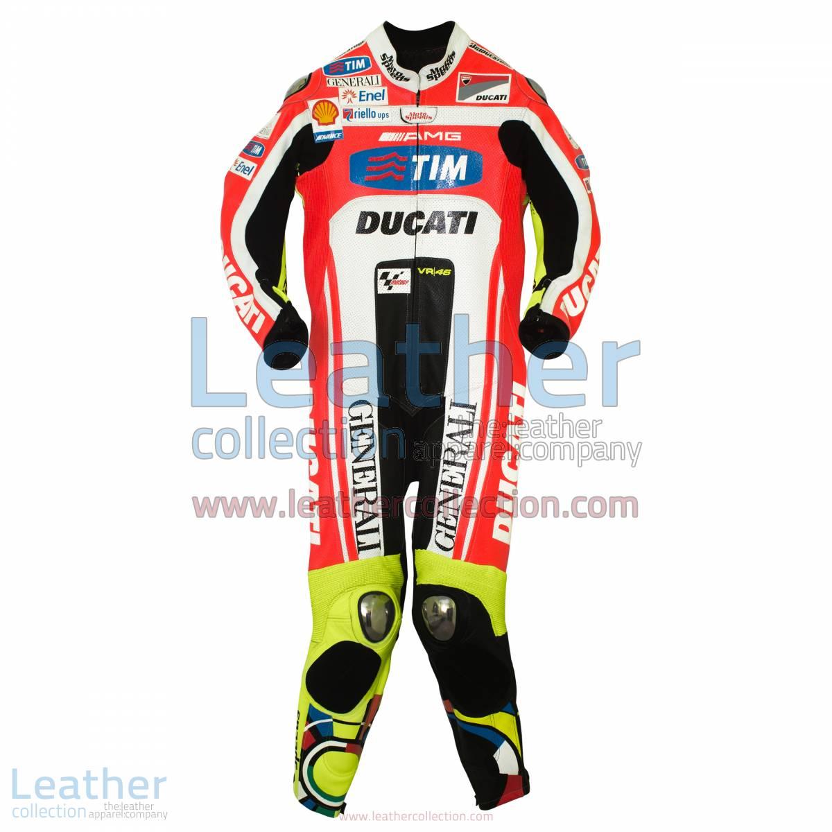 Valentino Rossi Ducati MotoGP 2011 Leathers   valentino rossi leathers