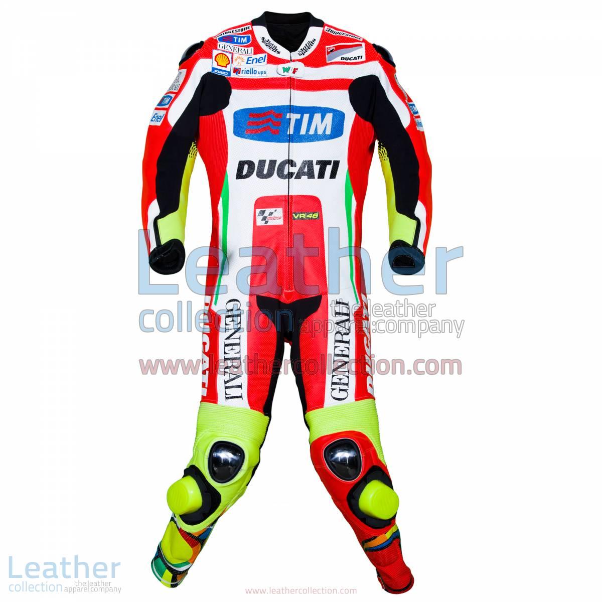 Valentino Rossi Ducati MotoGP 2012 Leathers | valentino rossi leathers