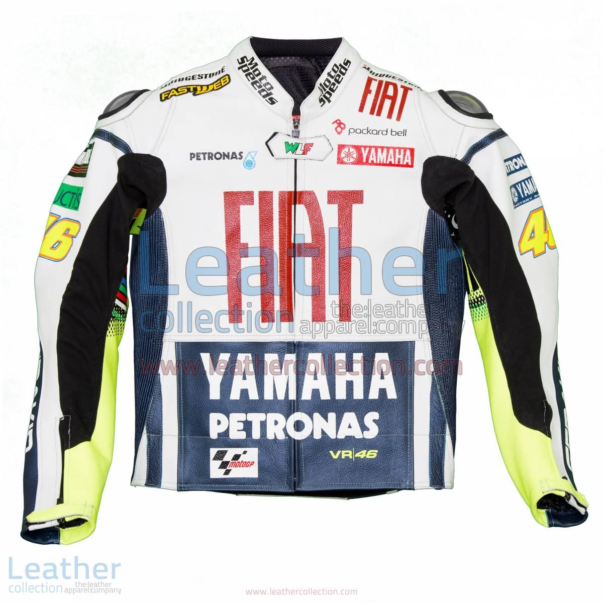 Valentino Rossi Fiat Yamaha MotoGP 2010 Race Jacket | Valentino rossi jacket