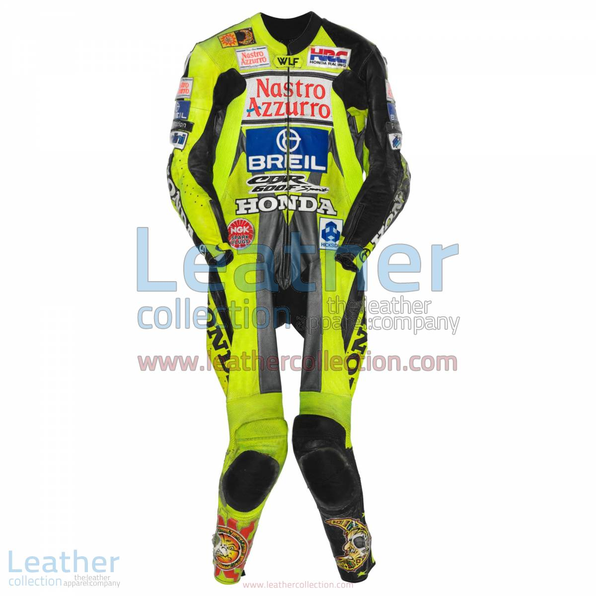 Valentino Rossi Honda CBR 600 GP 2000 Leather Suit | valentino rossi suit
